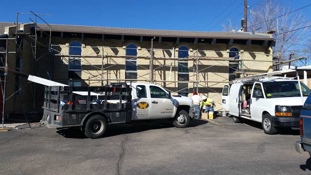 Monarch Roofing and Construction Commercial Stucco 8