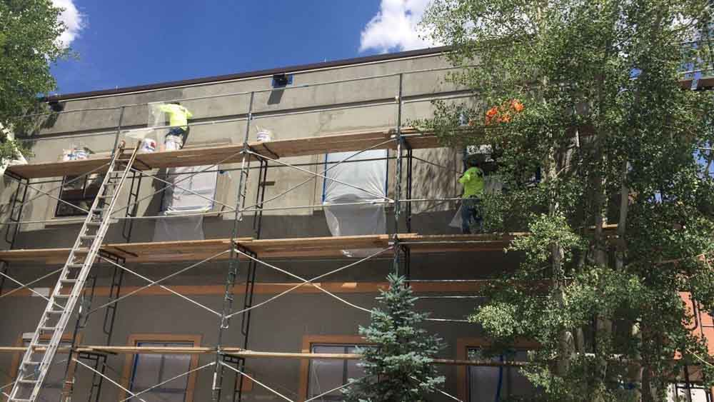 Monarch Roofing Stucco Paint